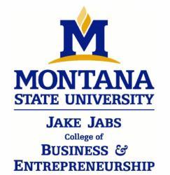 Jake Jabs College of Business & Entrepreneurship at MSU
